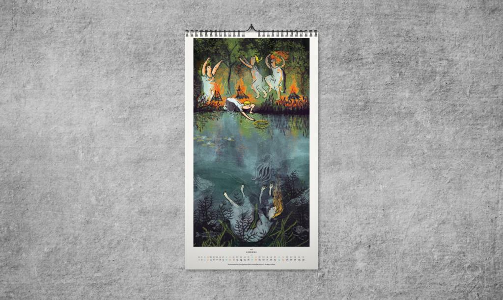 kalendarz mockup